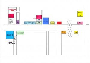 エスポワールのマップ